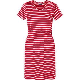 Regatta Havilah Dress Women, rojo/blanco